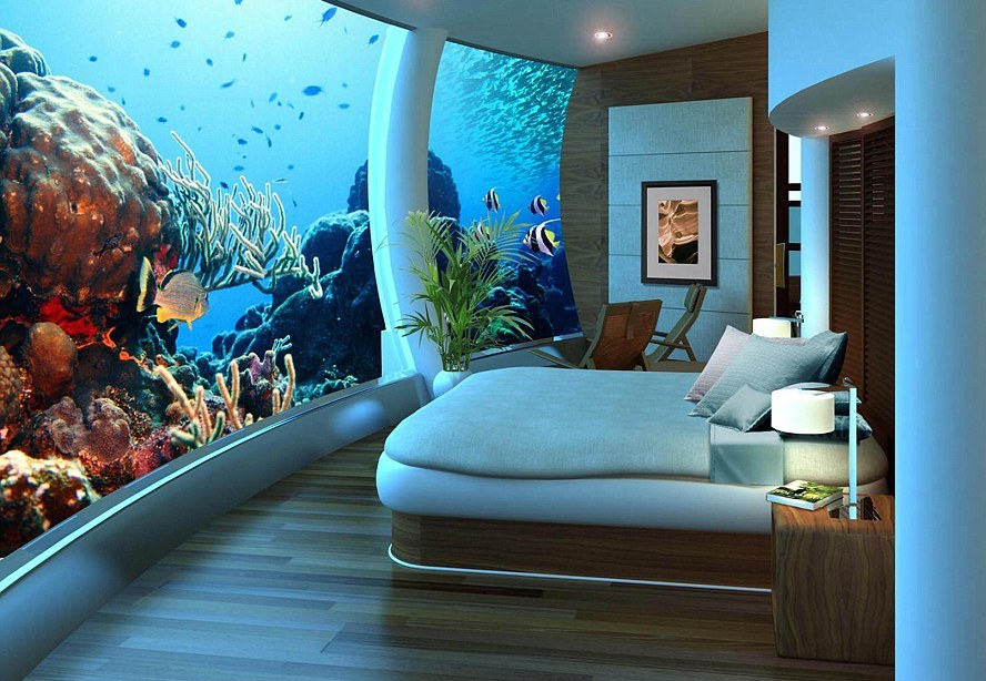 The undersea hotel in Fiji - a megalomaniac utopia?