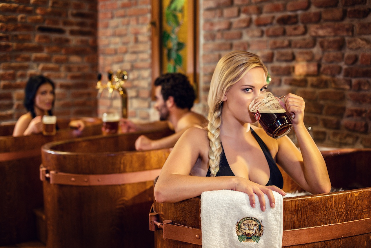 Beer Spa in Prague for thirst, fun & health