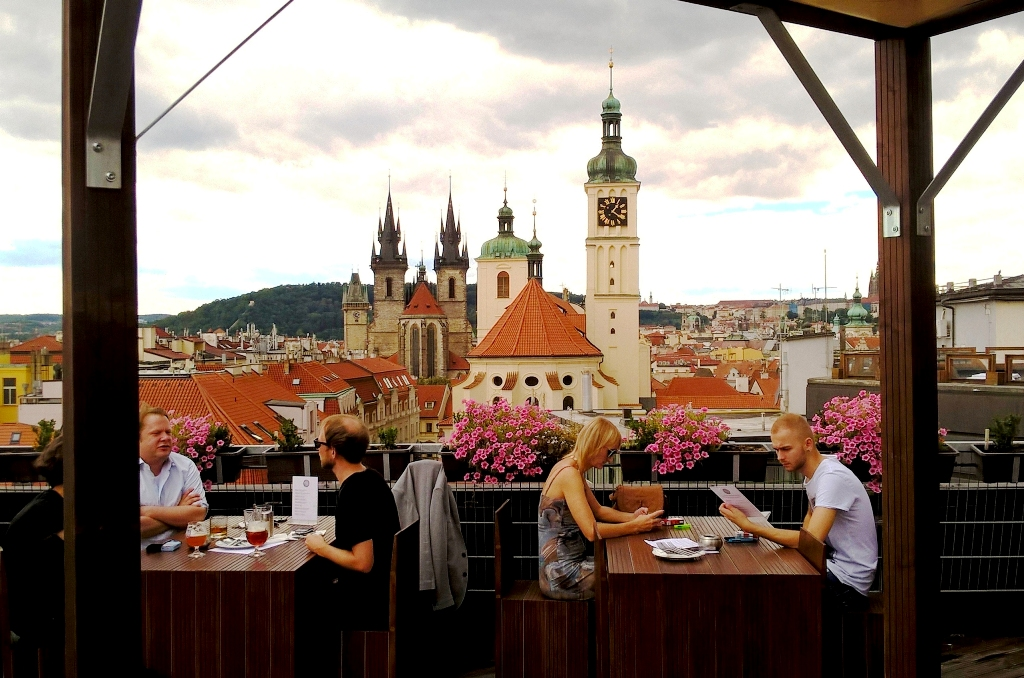 The 13 best rooftop restaurants in prague 3 nights in for Terrace u prince prague