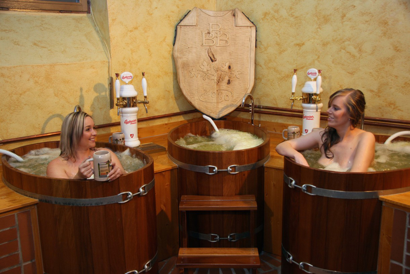 Beer spa in prague for thirst fun health 3 nights in for Best spa in prague