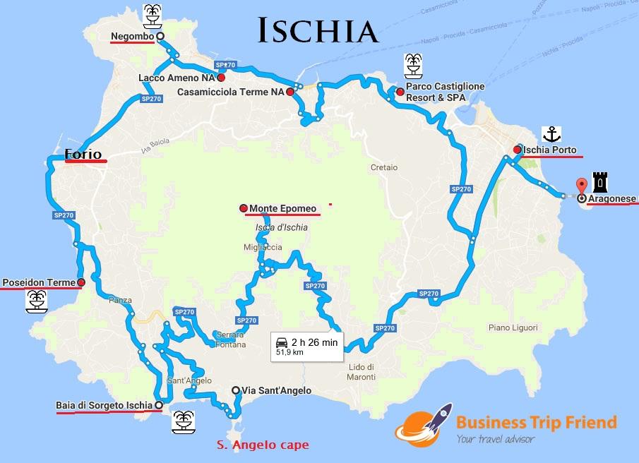Italian Thermal Island Ischia Some Like It Hot 3 Nights